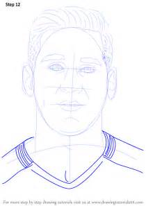 How to Draw Messi Step by Step Face