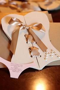 DIY Lingerie Bachelorette Party Invitations ♥ Unique And ...