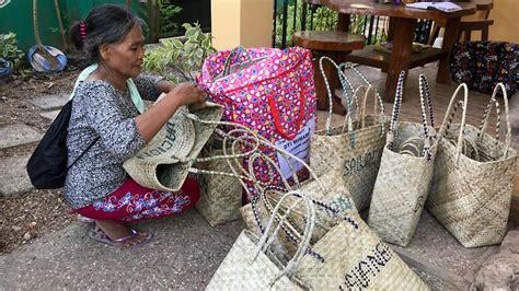 basket weaving  indigenous women   philippines