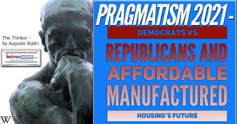 Pragmatism 2021 - Democrats vs Republicans and Affordable ...