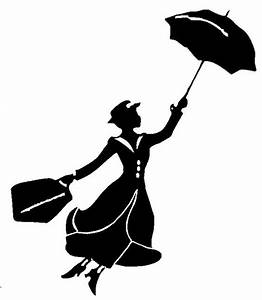 Mary Poppins Silhouette Tattoo | www.imgkid.com - The ...