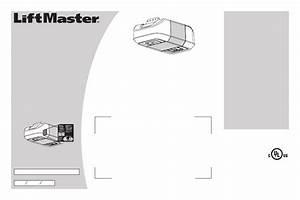 Liftmaster 8550 Elite Series Owner U0026 39 S Manual