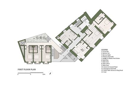 mansion floorplan gallery of 40 room boutique hotel chris briffa