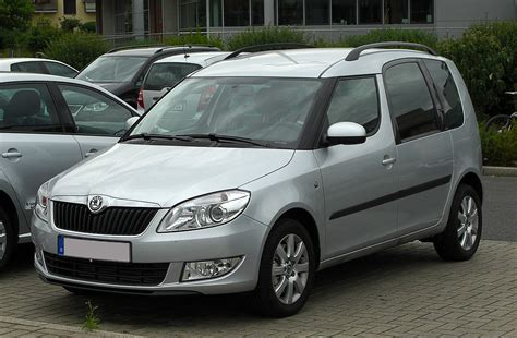 skoda roomster kofferraum maße file skoda roomster facelift frontansicht 28 mai