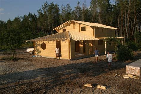 chalet en bois a monter soi meme chalets et maisons bois poirot construction