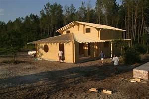 chalets et maisons bois poirot construction With construire sa maison soi meme en bois