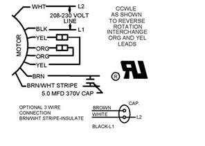 similiar electric fan motor wiring diagrams keywords how replace condensor fan motor emerson motor wiring