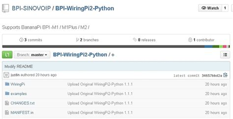 Wiringpi Python Banana Bpi Dual Core Single