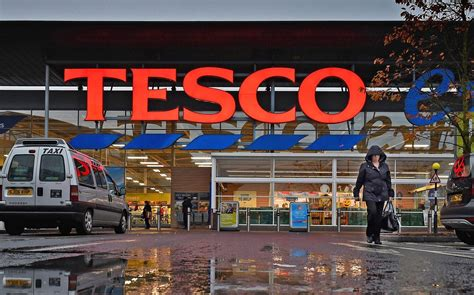 tesco takes   sq ft  manchester  meet covid