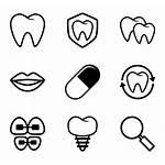 Dental Icon Vector Icons Dentist Teeth Clipart