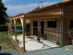Emejing pergola fait maison images amazing house design for Pergola bois fait maison