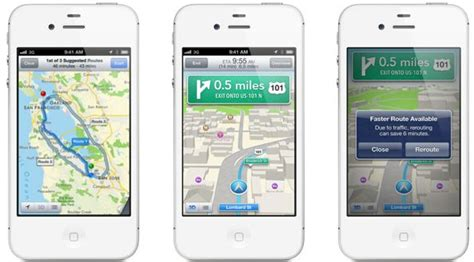 how to turn navigation on iphone turn by turn navigation and flyover in ios 6 maps is