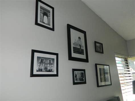 modern bedroom  valspar tempered gray paint