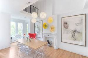simple decor updates that will have a big visual impact on With kitchen colors with white cabinets with extra large abstract wall art