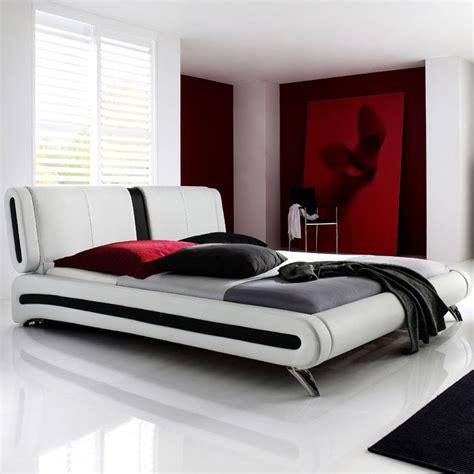 Polsterbett Komplett Malin Bett 140x200 Weiss + Lattenrost