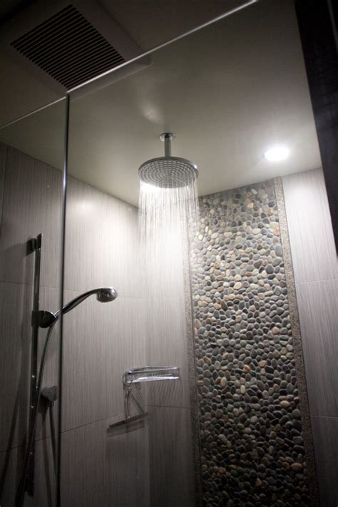 Bench Dining Room by Rain Shower Head Bathroom Modern With Beach Architecture