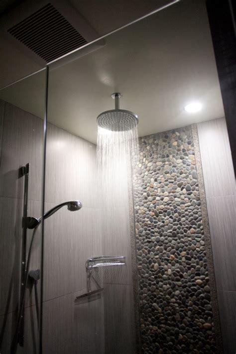 rain shower head Bathroom Modern with beach architecture