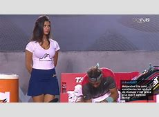 Tennis Rafael Nadal sous le charme d'une ramasseuse de