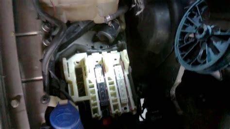 volvo ecm engine module removal