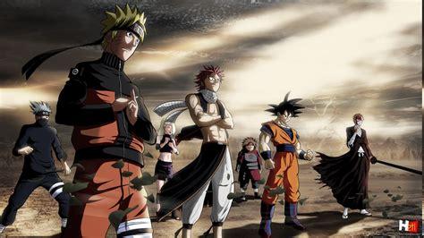 Anime Heroes Wallpaper - anime heroes kurosaki ichigo uzumaki