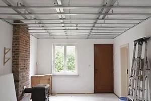 Installer Faux Plafond : le prix de pose d 39 un faux plafond ~ Melissatoandfro.com Idées de Décoration