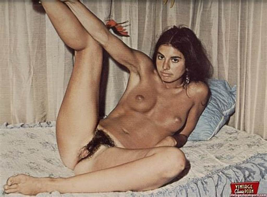 #Classic #Hairy #Hippie #Girls #From #The #Sixties #Posing #Nude