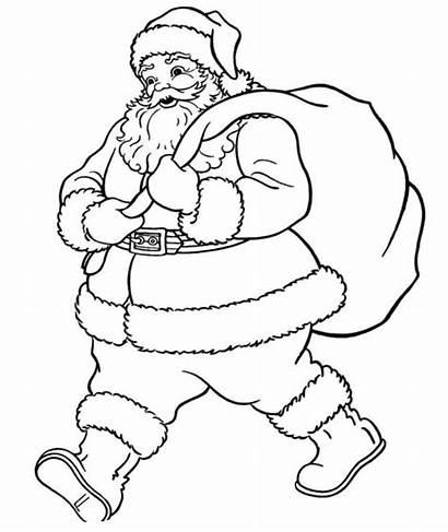 Santa Coloring Claus