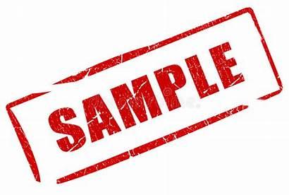 Stamp Sample Background Illustration