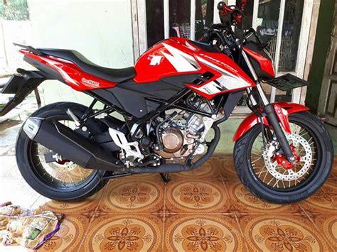 Modifikasi Honda Cb150 by Modifikasi New Honda Cb150r Sf Pasang Jari Jari Agar Berbeda