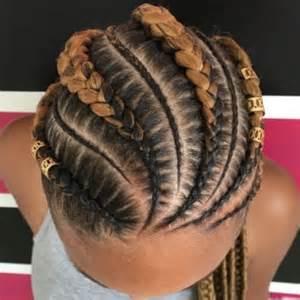 Ghana Braids Cornrows Hair
