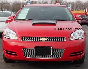 2000  2001  2002  2003  2004  2005 Chevy Impala Hood Scoop