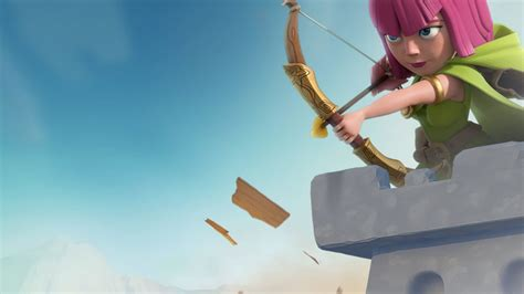 archer clash of clans 4k wallpaper best wallpapers