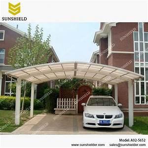 Carport Vor Garage : garage port for 2 cars sunshield outdoor polycarbonate ~ Lizthompson.info Haus und Dekorationen