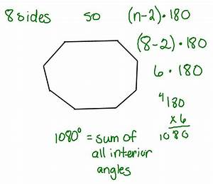 Mrs swickey39s class blog tuesday may 11th for Formula finding sum interior angles polygon