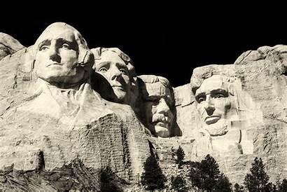 Rushmore Mount Memorial Usa Monument Sculpture Dakota