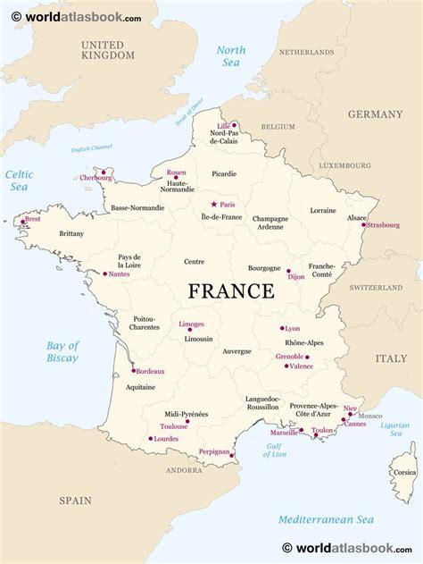 printable outline maps  kids map  france outline
