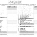 blank balance sheet templates excel  rtf