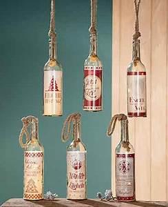 Flasche Mit Lichterkette : flasche mit led beleuchtung und spruch flaschenpost nur ~ Lizthompson.info Haus und Dekorationen