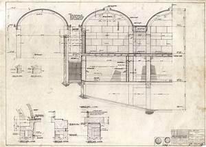 Kimbell Art Museum wall section (1970)   Louis Kahn ...