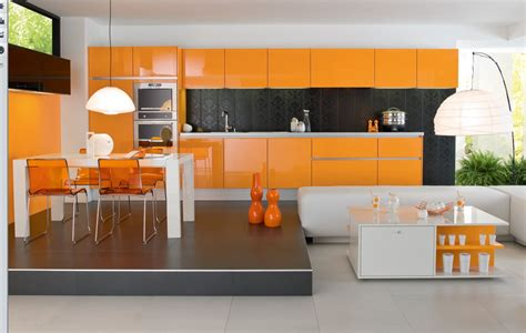 Kuche Orange by 23 Beautiful Kitchens