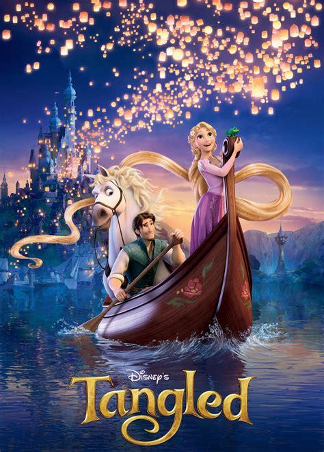 New Tangled Poster and Promo Clip - FilmoFilia