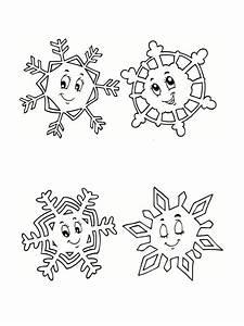 Flocon De Neige En Papier Facile Maternelle : coloriage hiver 24 dessins imprimer ~ Melissatoandfro.com Idées de Décoration