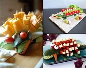 Gemüse Krokodil Anleitung : kindergeburtstag essen 40 leckere und schnelle ideen f r party fingerfood ~ Markanthonyermac.com Haus und Dekorationen