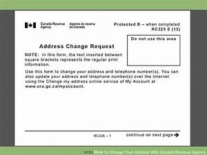 how to change your address with canada revenue agency 6 steps With change of address slip
