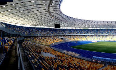 siege stade olympique stade olympique à kiev image stock éditorial