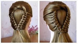 Coiffure Tresse Facile Cheveux Mi Long : tuto coiffure tresse facile coiffure simple et rapide ~ Melissatoandfro.com Idées de Décoration