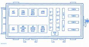 Dodge Intrepid 2001 Fuse Box  Block Circuit Breaker Diagram