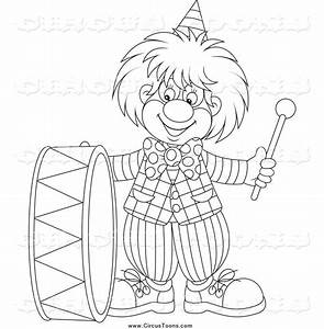 Royalty Free Stock Circus Designs of Clowns - Page 5