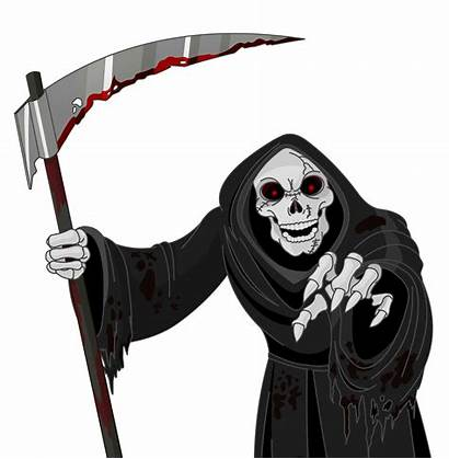 Scary Clipart Money Reaper Grim Demons Reapers