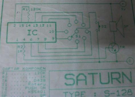 Eight Sound Effects Generator Circuit Scheme